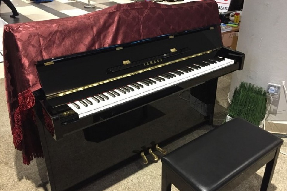 Upright Piano at Punggol SAFRA