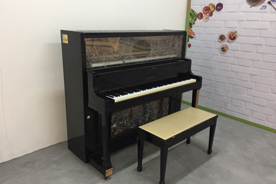 Close-up of Upright Piano at Viva Business Park