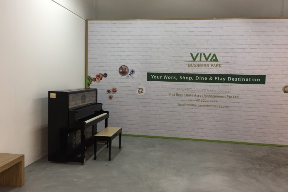 Upright Piano at Viva Business Park