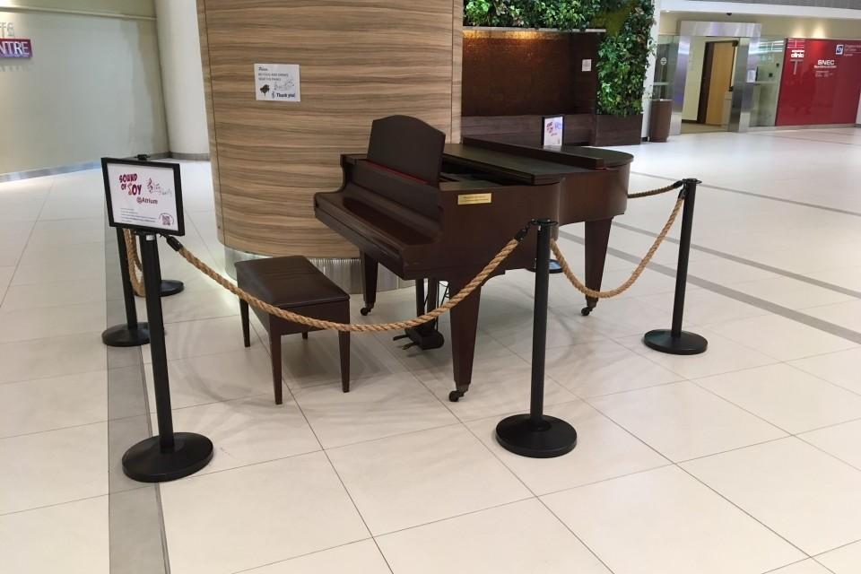 Baby Grand Piano at CGH