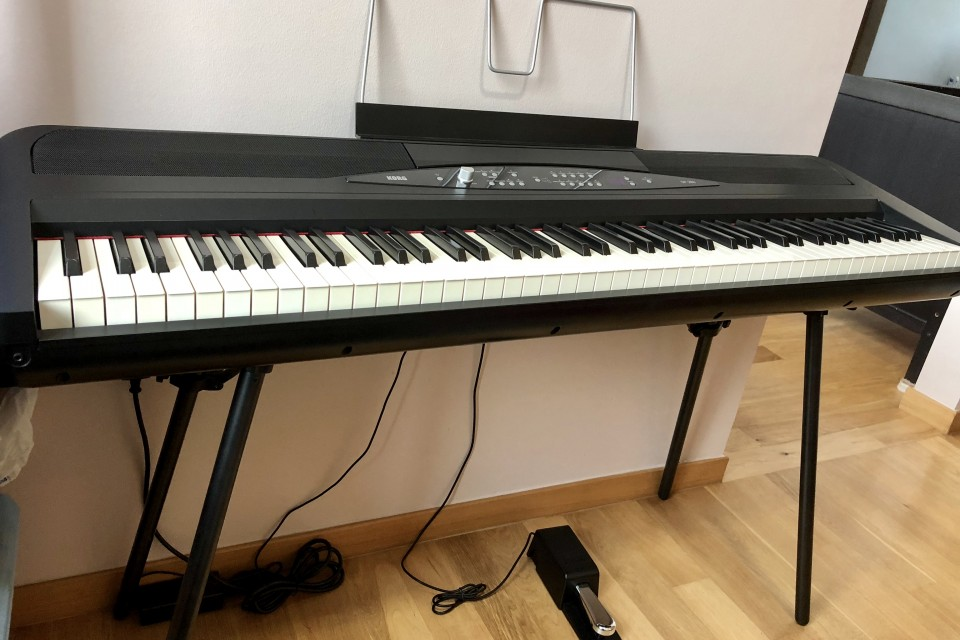 korg sp 280 quality digital piano used piano thepiano sg. Black Bedroom Furniture Sets. Home Design Ideas
