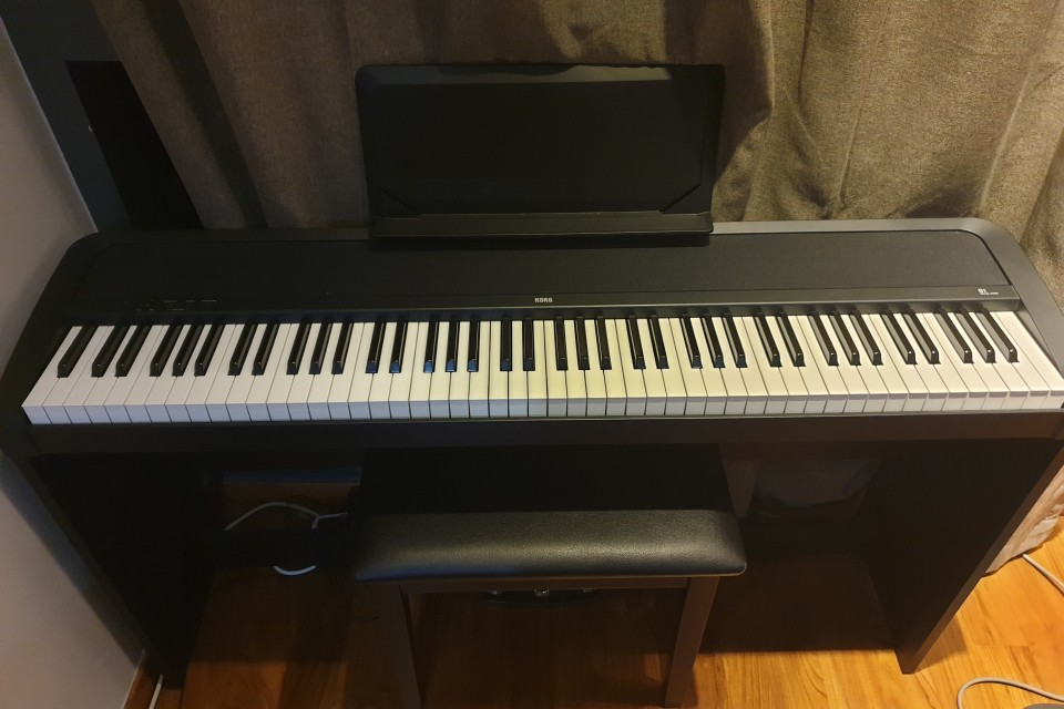 korg b1sp digital piano almost new used piano thepiano sg. Black Bedroom Furniture Sets. Home Design Ideas