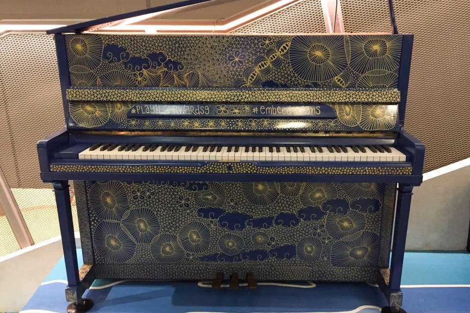 Upright Piano at Kinex