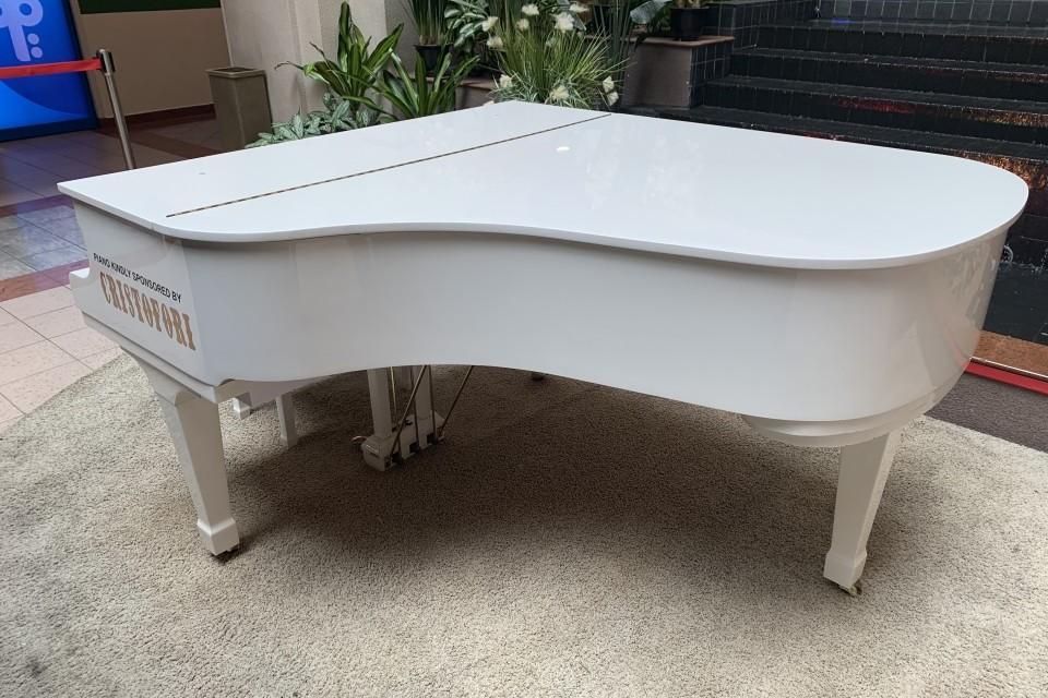 Grand Piano at Tan Tock Seng Hospital