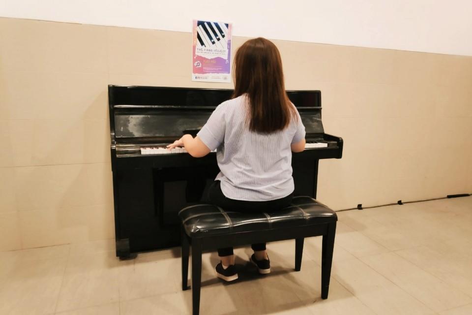 Upright Piano @ Haw Par Villa