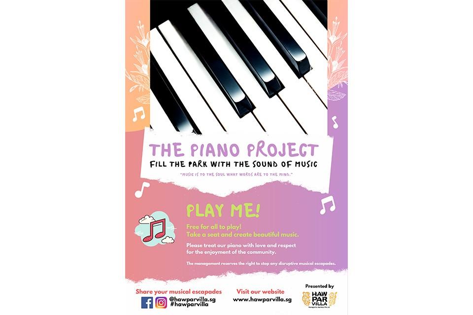 The Piano Project @ Haw Par Villa