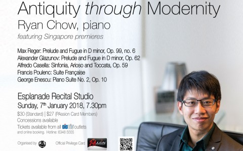 Antiquity through Modernity: In Concert with Ryan Chow