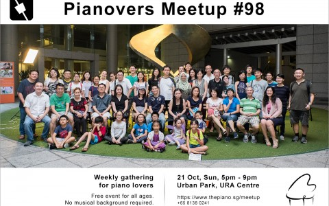 Pianovers Meetup #98