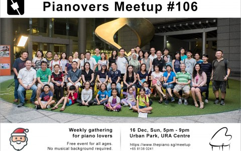 Pianovers Meetup #106 (Christmas Themed)