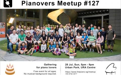 Pianovers Meetup #127