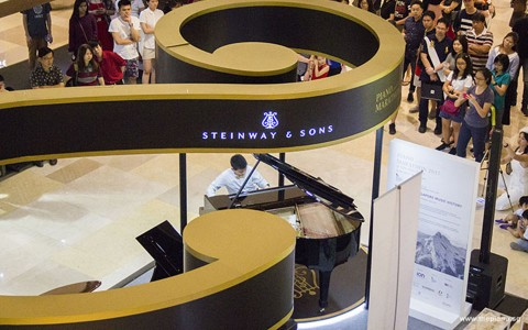 New Singapore Record For The Longest Piano Playing For 13 Hours