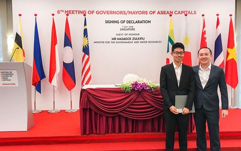 ThePiano.SG Participates in 6th Meeting of Governors/Mayors of Asean Capitals