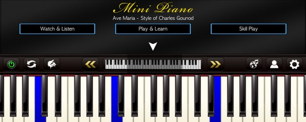 Mini Piano ®, Cover Image