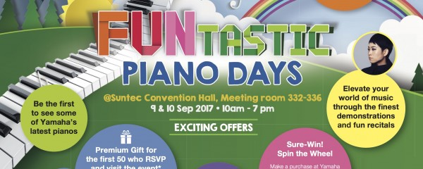 Yamaha Funtastic Piano Days 2017