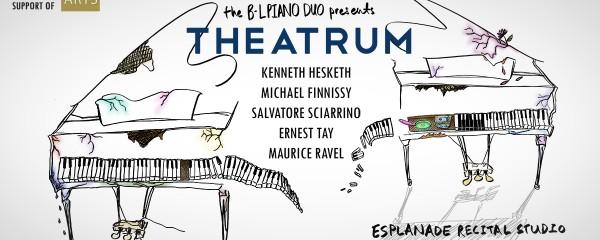 The B-L Piano Duo presents THEATRUM