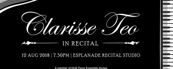 Clarisse Teo in Recital