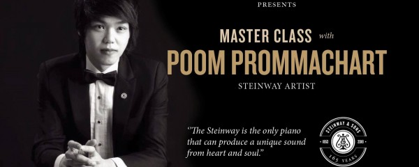 Masterclass with Poom Prommachart