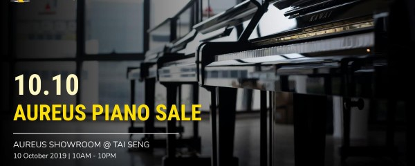 10.10 Aureus Piano Sale