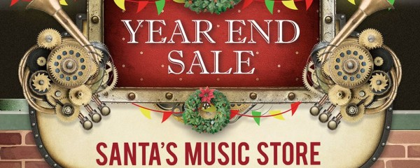 ❄️ Time to be jolly! Let us light up your Christmas spirit with the magical joy of music ✨ 🎶! Click play to take a peek of what's in Santa's Music Store! 🎁🎶 Indulge your Christmas gifting with Yamaha Year End Sale. Available from now till 29 Dec 2019!