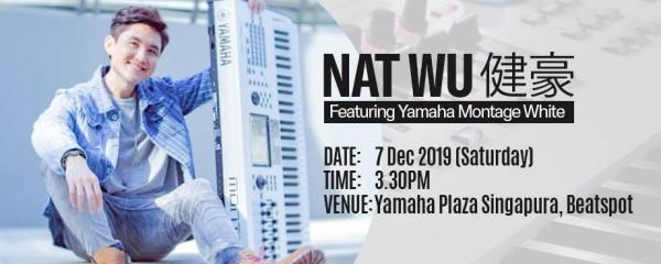 Nat Wu 健豪, Featuring Yamaha Montage White