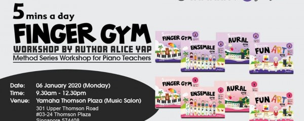 5mins a day Finger Gym Workshop for Piano Teachers