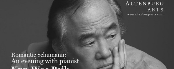 Romantic Schumann: An evening with pianist Kun-Woo Paik