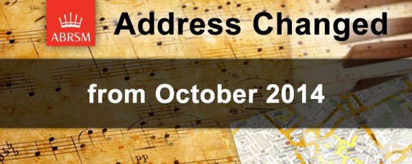 Change in Singapore ABRSM Representative Office's Address