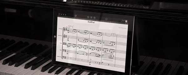 StaffPad App and Microsoft Surface - Write music digitally in the most natural way