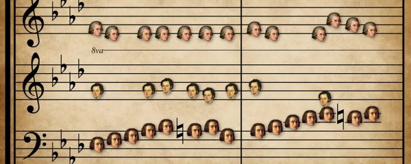 Mash-up piano composition brings classical music to a new level