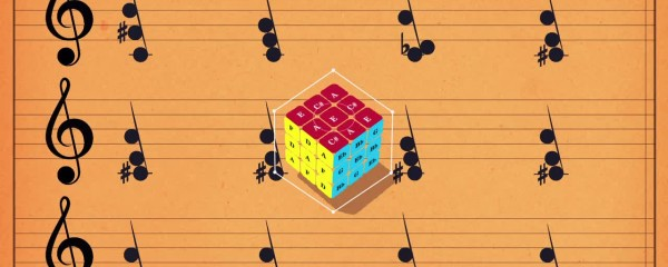 Musical Chord Progression - The Secret To Solving The Rubik's Cube