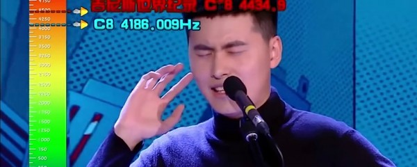 Highest Vocal Note Sung By A Male