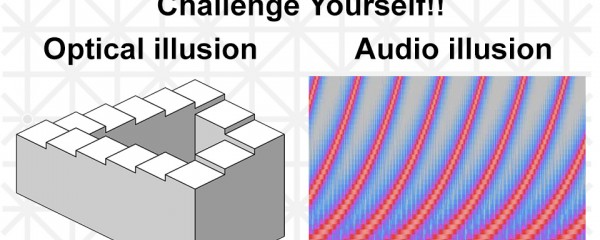 Auditory Illusion! Shepard Tone, A Tone That Goes Up Or Down Endlessly