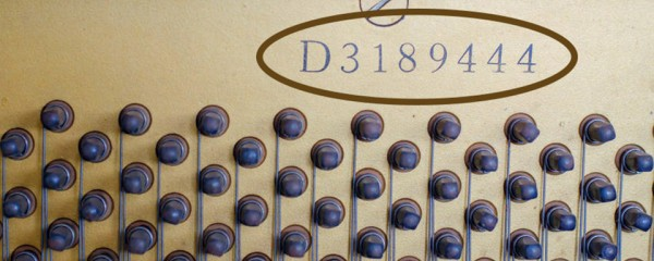 How To Find The Serial Number Of Your Piano