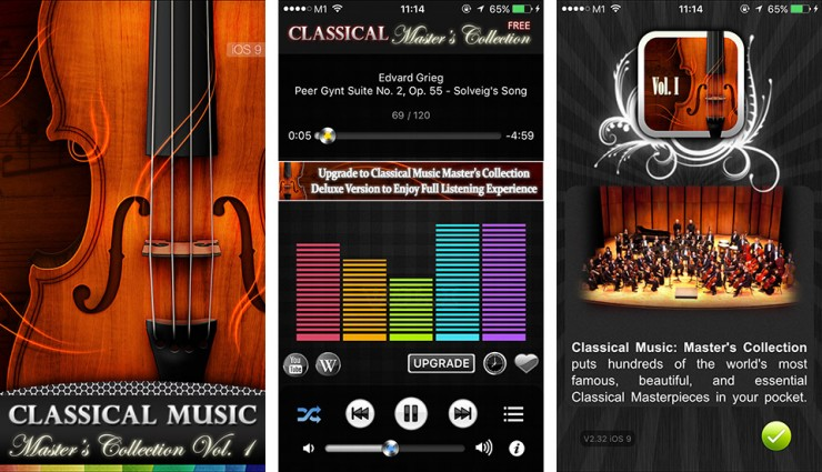 Classical Music I: Master's Collection Vol. 1: Cover image