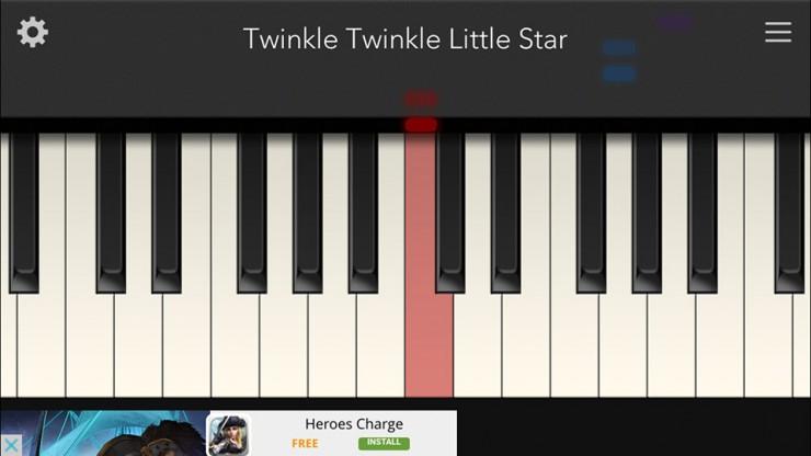 Tiny Piano, Cover image