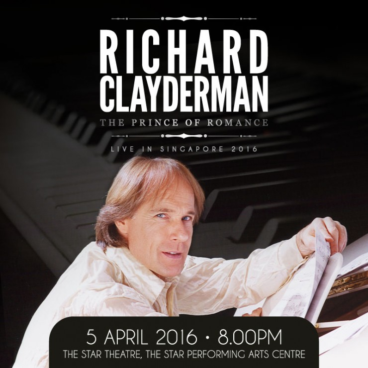 Richard Clayderman - The Prince of Romance, Live In Singapore 2016