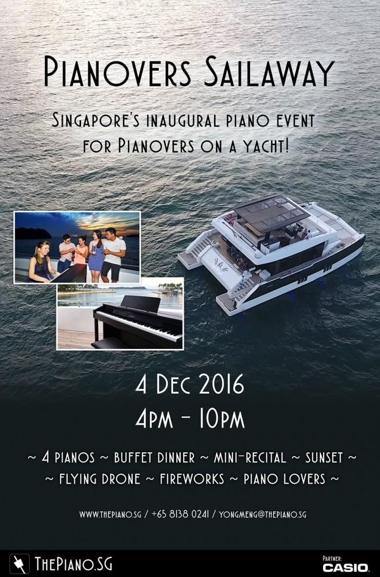 Pianovers Sailaway 2016