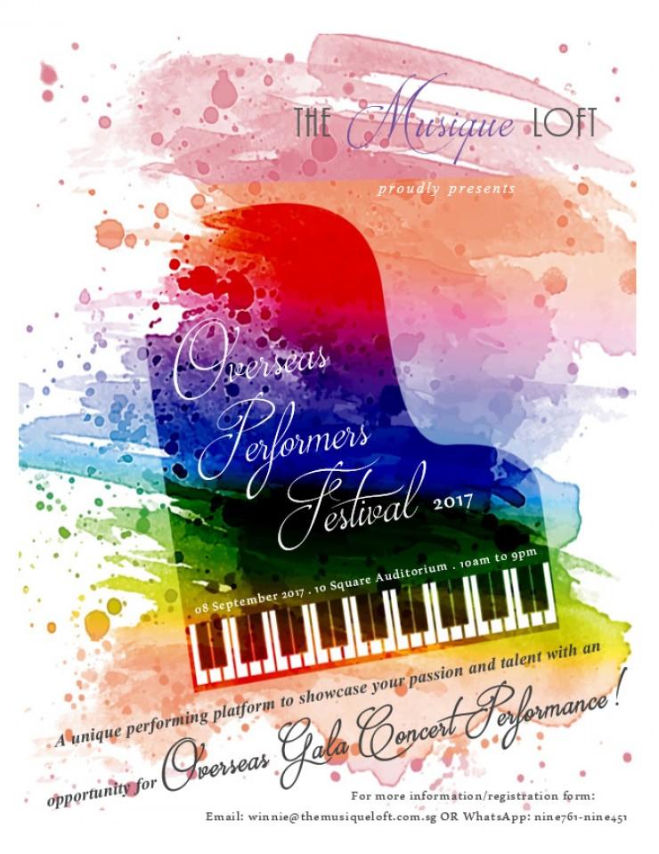 Overseas Performers Festival 2017