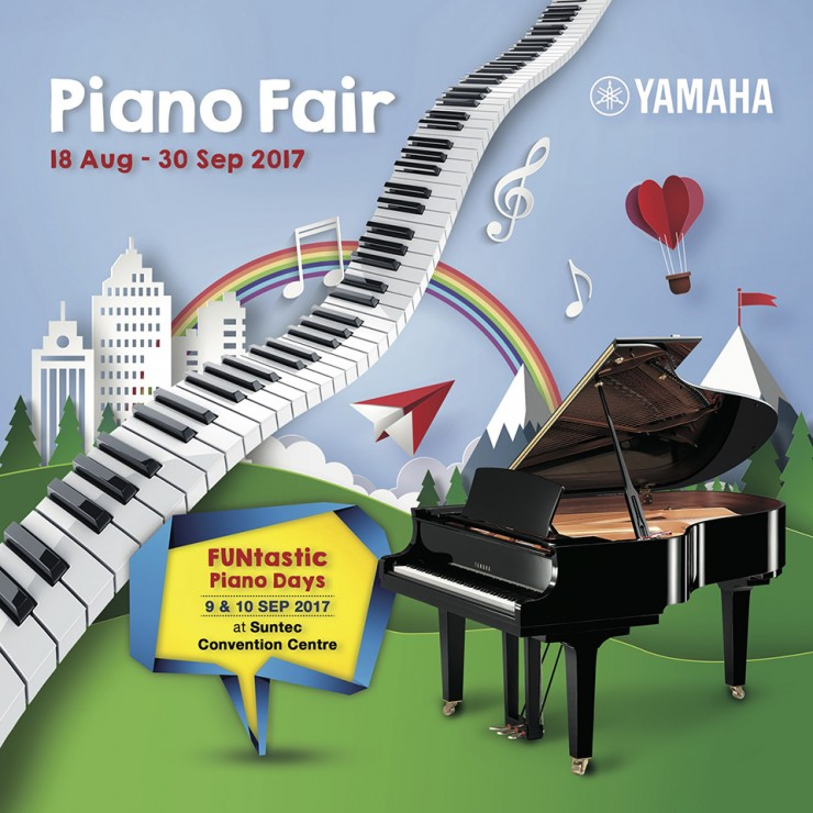 Yamaha Piano Fair 2017