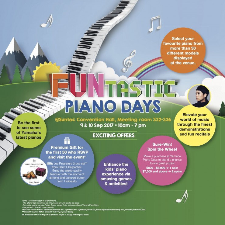 Yamaha Funtastic Piano Days 2017