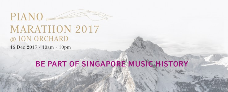 Piano Marathon @ ION Orchard 2017