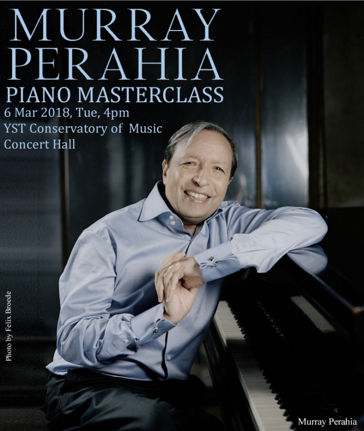 Murray Perahia Piano Masterclass