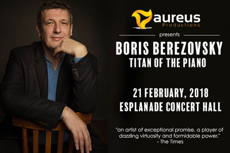 Aureus Productions Presents - Boris Berezovsky: Titan Of The Piano