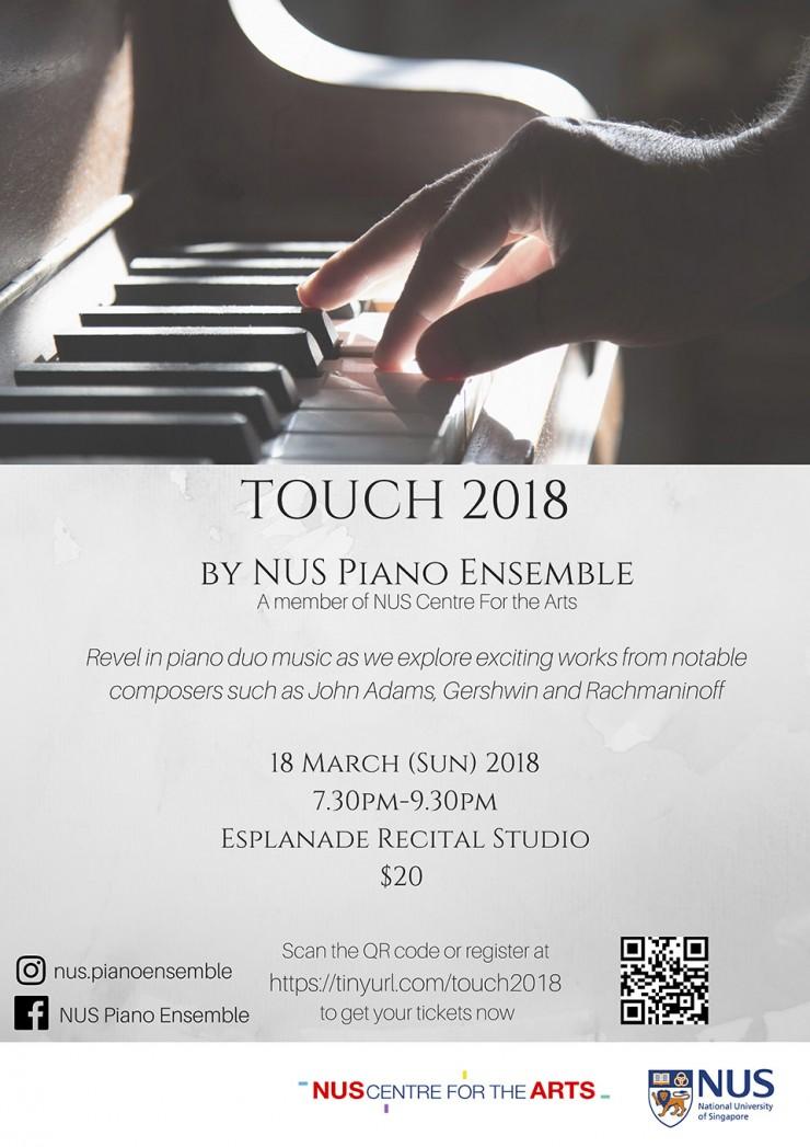 NUS Piano Ensemble - Touch 2018