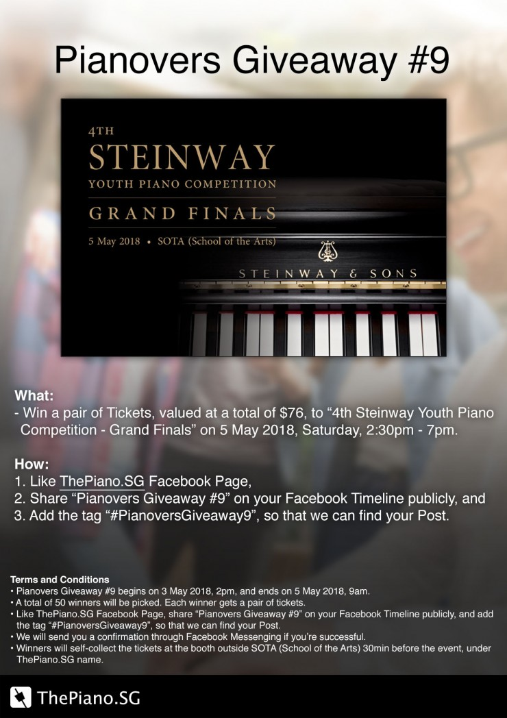 Pianovers Giveaway #9