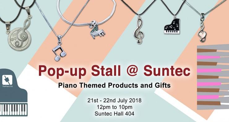 ThePiano.SG Pop-up Stall @ Suntec Hall 404