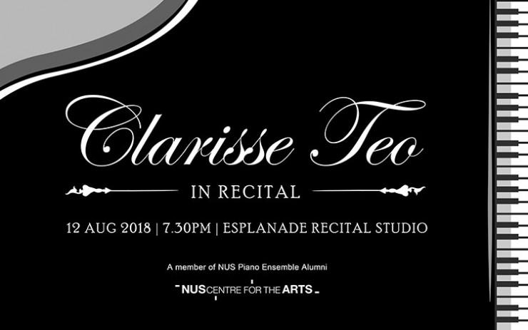 Clarisse Teo in Recital