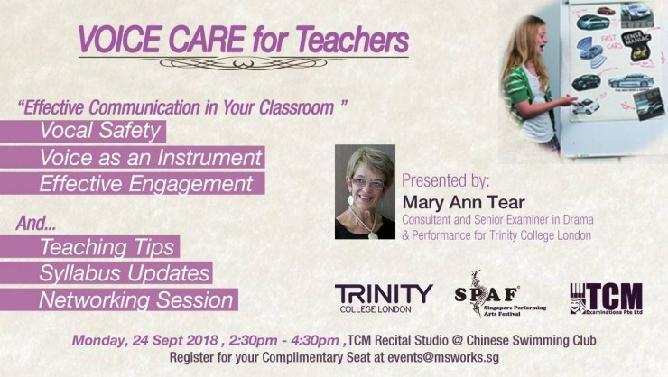 VOICE CARE for Teachers & Trainers