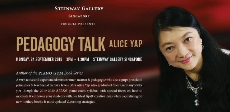 Pedagogy Talk - Alice Yap