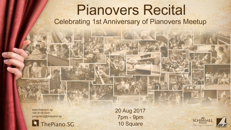 Pianovers Recital